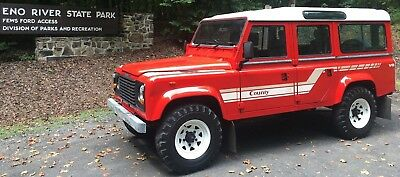 1985 Land Rover Defender Country Station Wagon 1985 LAND ROVER DEFENDER 110 - 3.5lt - V8 - CSW - CLASSIC - ICON  - 4x4