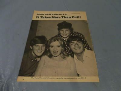 Dean Martin Jr with Hayley Mills   clipping  #207