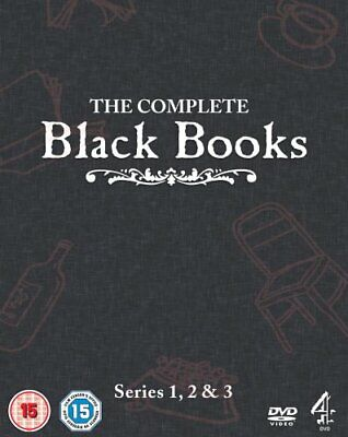Black Books - The Complete Box Set [DVD] - DVD  CKVG The Cheap Fast Free Post