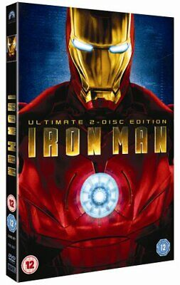 Iron Man (2-Disc Ultimate Edition) [DVD] - DVD  PUVG The Cheap Fast Free Post