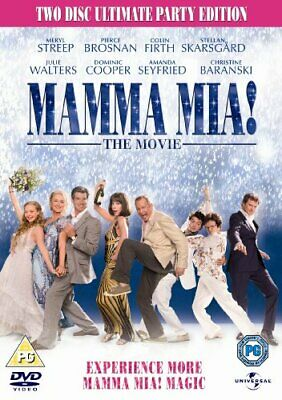 Mamma Mia! Special Edition (2 Discs) [DVD] - DVD  8GVG The Cheap Fast Free Post