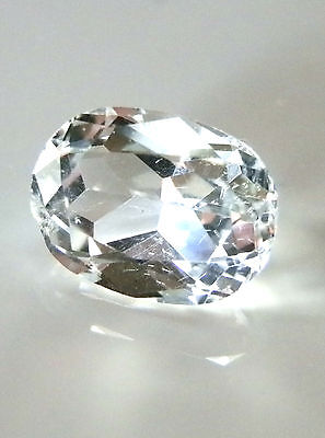 Natural earth-mined clear white Australian Topaz....2.87 carat