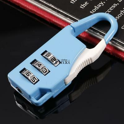 3 Combination Number Luggage Case Bag Security Travel Suitcase Padlock TXCL