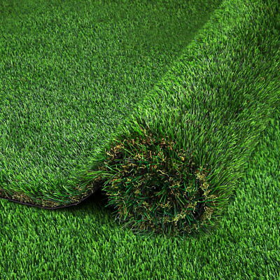 NEW 5 SQM Durable Artificial Grass Synthetic Turf Lawn Flooring 30mm Pile Green
