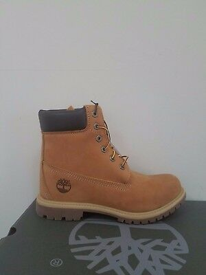 "Timberland Women's 6 inch"" Double Sole Premium Wedge  Waterproof Boots NIB"