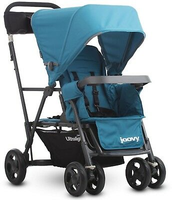 Tandem Baby Double Stroller Two Children Car Seat Ultralight