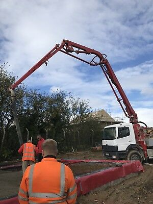 Concrete Pump Ready Mix Concrete Volumetric Concrete Hire
