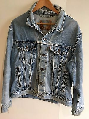 vintage levis denim jacket L 42