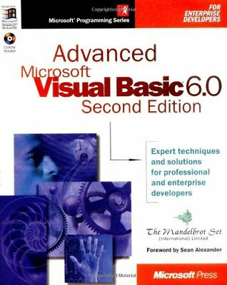 Advanced Visual Basic 6.0 (Mps) by Microsoft Mixed media product Book The Cheap