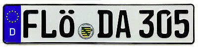 German License Plate Florida Area Code (FLÖ) by Z Plates 305,786,850,904 + more