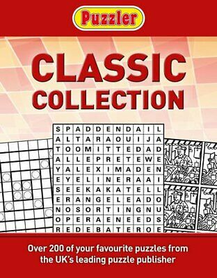 Puzzler Classic Puzzles Compendium by Puzzler Book The Cheap Fast Free Post