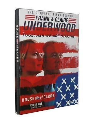 House of Cards : Season 5 (DVD, 2017,4-Disc Set)
