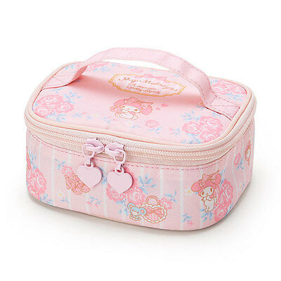 """Sanrio My melody pouch For travel kawaii  Cute 5.3 x 4.1 x 2.3"""" F/S NEW"""
