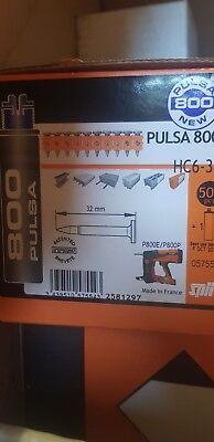 Spit Pulsa 800e & 800p Nails for Concrete & Steel 32mm (Hard) 057554