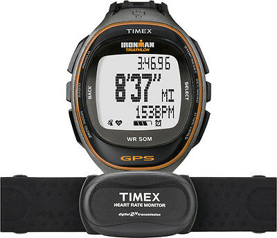 Timex T5K575 Ironman Run Trainer with gps-technologie