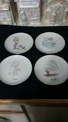 """Precious Moments Choice of 6"""" Month Plate"""