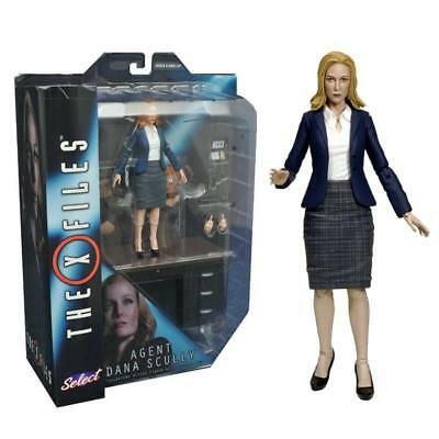 "The X Files Diamond Select Agent Dana Scully 7"" Action Figure Collectible"
