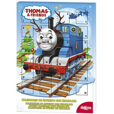 THOMAS Chocolate Advent Calendar Christmas Countdown for Kids Children