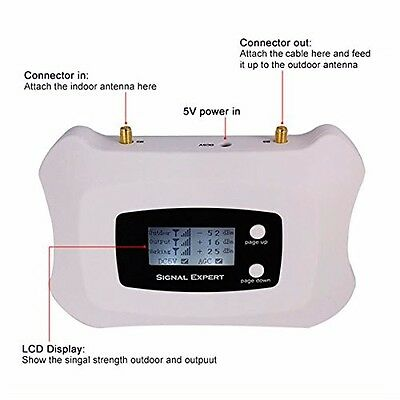 Mobile Signal Booster for O2 and Vodafone Voice + 3G/Voice 900MHZ