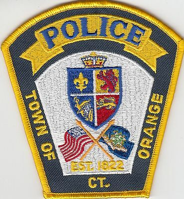 Orange Connecticut Ct Police Patch