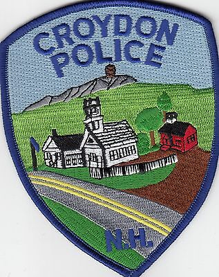 Croydon Police Shoulder Patch New Hampshire Nh