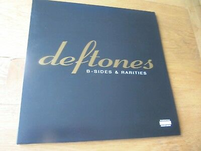 Deftones ‎– B-Sides & Rarities Ltd Gold Vinyl RSD16 in Near Mint condition
