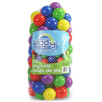 Kiddy Up Crush Resistant Pit Balls Playset 100 Count