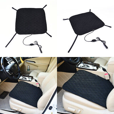 DC 12V Universal Car Heated Seat Cushion Cover Heating Heater Warmer Pad Winter