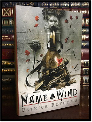 The Name Of The Wind ✎SIGNED✎ PATRICK ROTHFUSS New Illustrated Edition Hardback