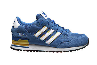Sneakers Shoes Scarpe Uomo Man Adidas Originals Zx 750 By9272 Blue/ftwwht/eqtyel
