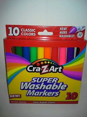 Brand New Cra-Z-Art Super Washable Markers