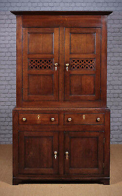 Antique Georgian Welsh Oak Kitchen Cupboard c.1810