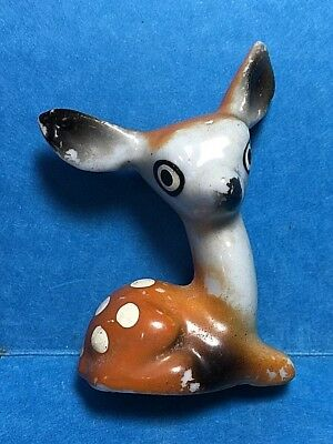 Vintage Small Ceramic Fawn/ Doe/Deer Figurine /Figure #66