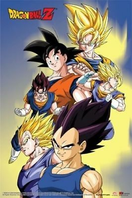 DRAGON BALL Z - CAST POSTER 24x36 - 51567