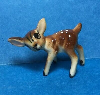 Vintage Small Ceramic Fawn/ Doe/Deer Figurine /Figure #68