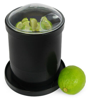 Lemon Lime Bar Wedger Fruit Cutter Segmenter Slicer Pub Black Segments