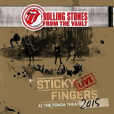 Rolling Stones Sticky Fingers Live At The Fonda Theatre 3 LP/DVD SET NEW(29SEP)