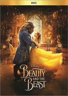 Beauty and the Beast (DVD 2017) Disney Family Romance Movie FAST SHIPPING