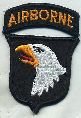 Vietnam Era 101st Airborne Division Color Patch W/Tab