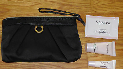 Singapore Airlines First Class Salvatore Ferragamo Ladies Amenity Kit NEU!
