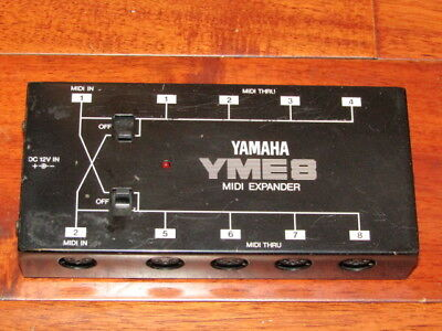 Rare Yamaha Midi Extender Yme8 Made In Japan