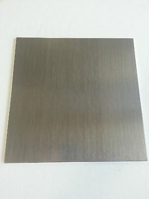 ".125 1/8"" Mill Finish Aluminum Sheet Plate 6061 13"" x 13"""