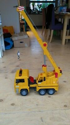 MAN Crane Truck Construction Vehicle Cars Model Toys
