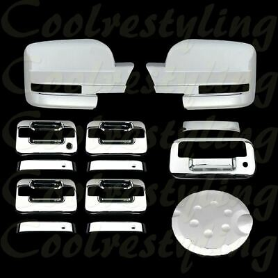 Ford F-150 F150 2004-2008 Chrome TOP Mirror 4 Door Handle Tailgate Cover