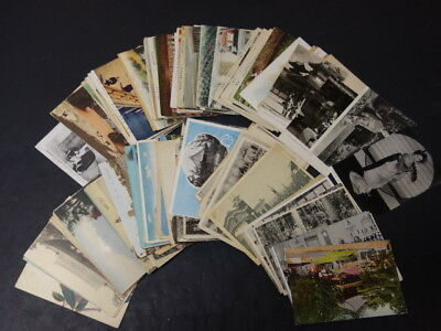 Lot Of 200 Antique Japanese Postcards