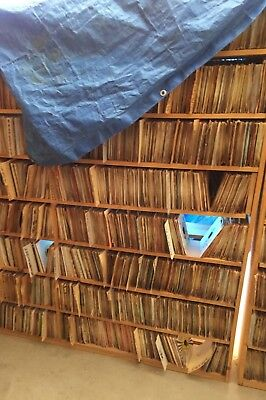 "Lot of 100 7"" RANDOM 45's WHOLESALE Lot Resale VINYL Job Lot Rock, R&B, Country"
