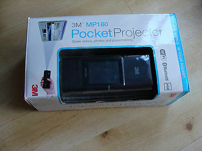 3M MP180 Pocket Projector    Wifi, Bluetooth, Touchscreen