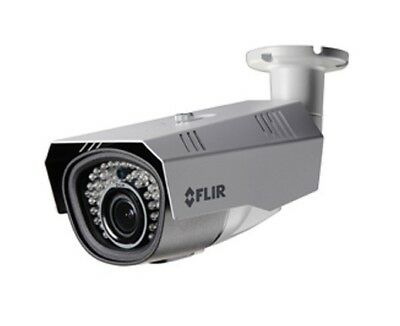FLIR Security C237BD1 Motorized Varifocal WDR Bullet MPX Camera, 2.1MP HD,6-22MM