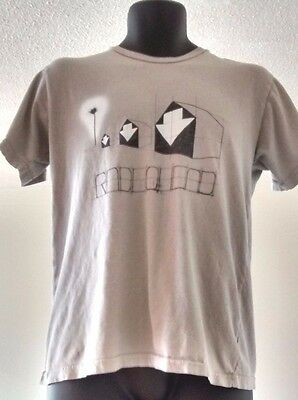 Official W.A.S.T.E Radiohead White Arrows T Shirt Size M