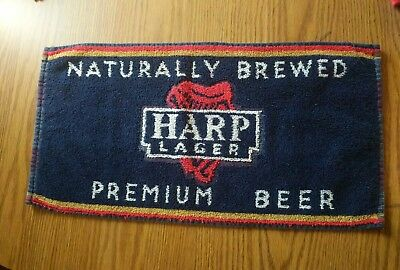 (Look) Harp Lager beerbar pub cloth towels game room man cave
